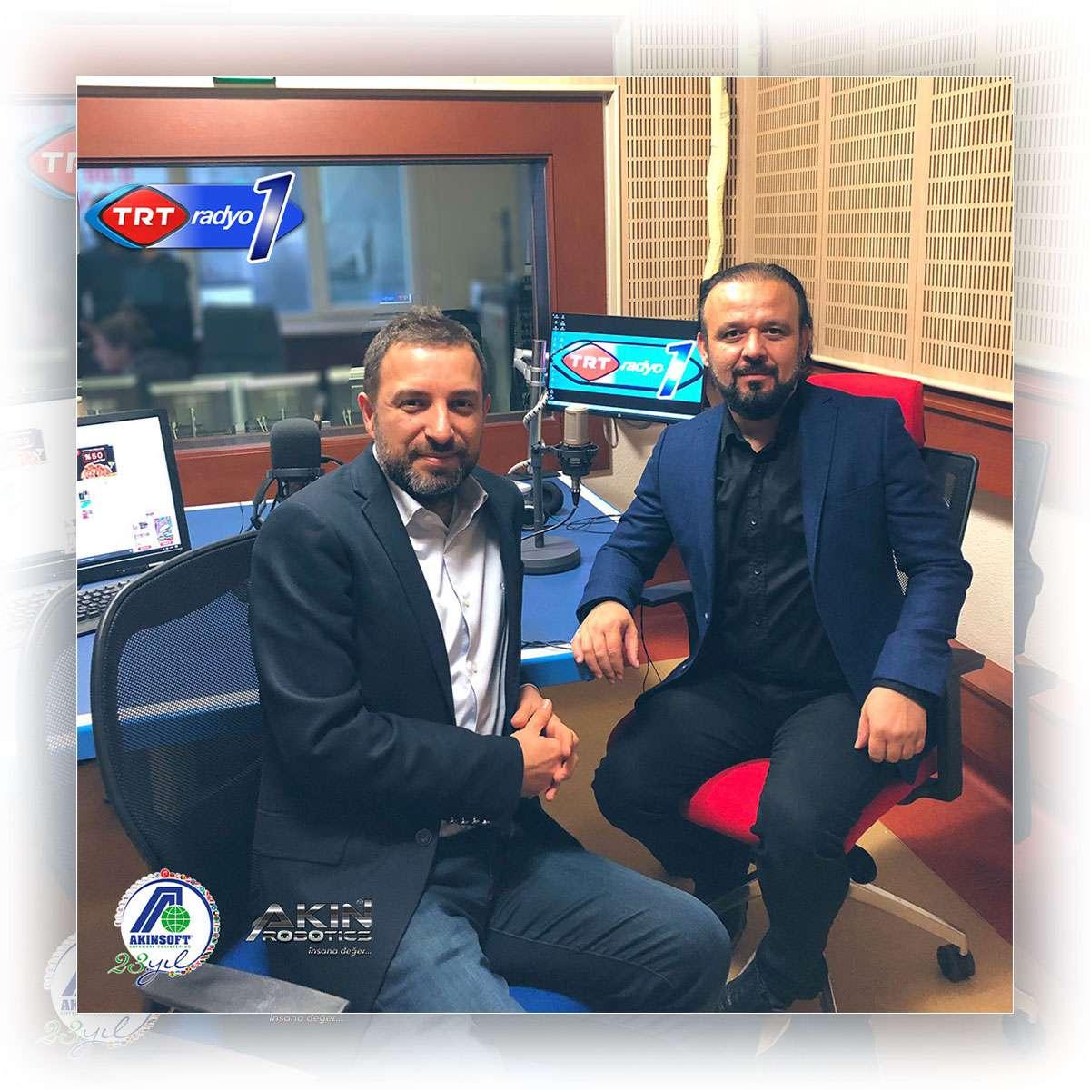Dr. Özgür AKIN TRT Radyo 1'de Yayınlanan Dijital Hayat Programının Konuğu