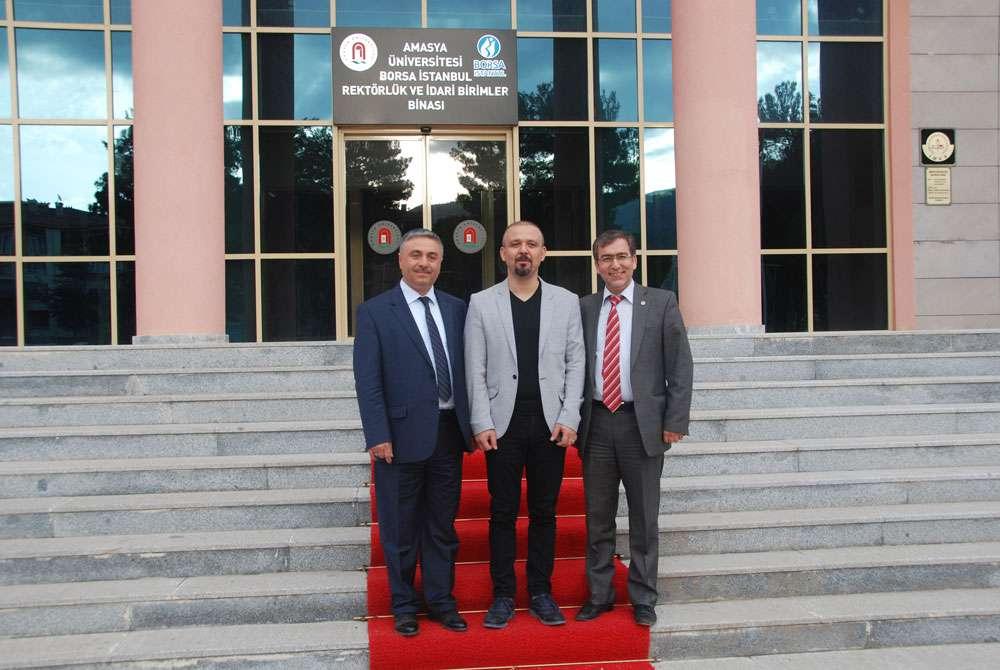 AKINSOFT Yönetim Kurulu Başkanı Dr Özgür AKIN Amasya Üniversitesi Öğrencileriyle Söyleşide Buluştu - 19