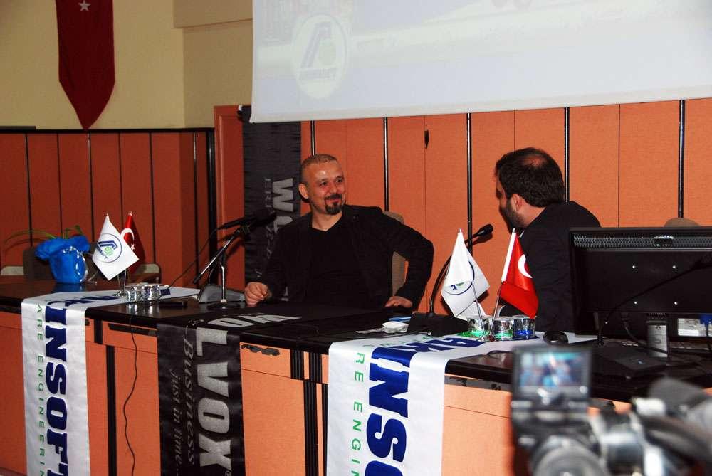AKINSOFT Yönetim Kurulu Başkanı Dr Özgür AKIN Gaziantep Üniversitesi Öğrencileriyle Söyleşide Buluştu - 19