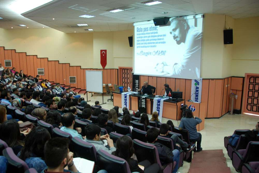 AKINSOFT Yönetim Kurulu Başkanı Dr Özgür AKIN Gaziantep Üniversitesi Öğrencileriyle Söyleşide Buluştu - 13
