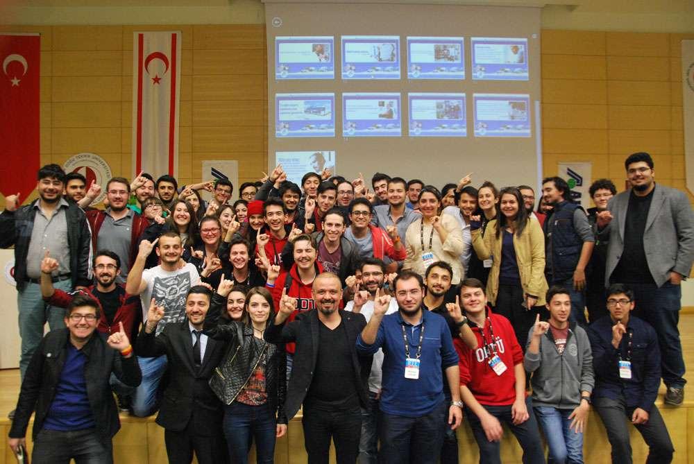 AKINSOFT Yönetim Kurulu Başkanı Dr Özgür AKIN ODTÜ Kuzey Kıbrıs Kampüsü Öğrencileriyle Söyleşide Buluştu - 5
