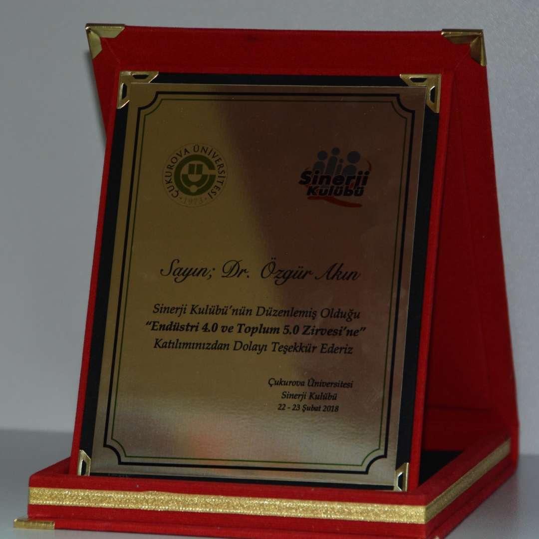 Dr Özgür AKIN Adana Çukurova Üniversitesinde Endüstri 40 ve Toplum 50 Zirvesi konuları ile ilgili konferans verdi - 9