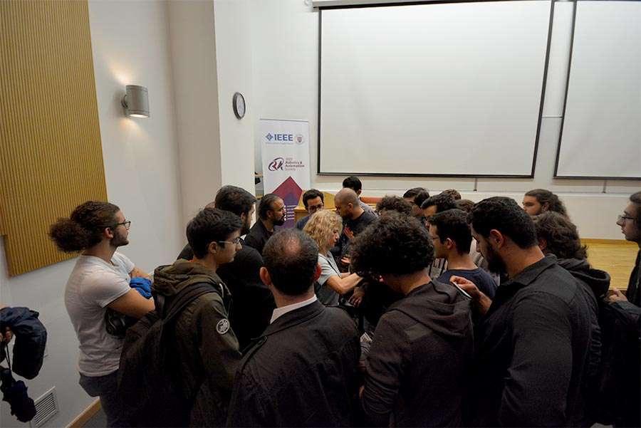 Dr Özgür AKIN Ankara Bilkent Üniversitesi Öğrencileriyle Buluştu - 5