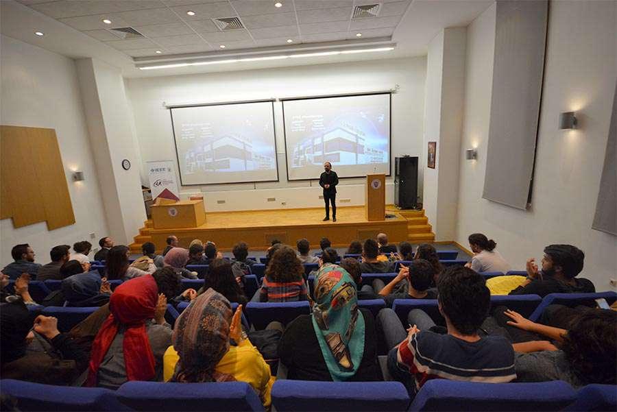 Dr Özgür AKIN Ankara Bilkent Üniversitesi Öğrencileriyle Buluştu - 9