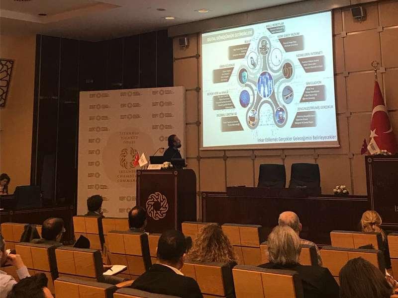 Dr Özgür AKIN İstanbul Ticaret Odasında Yapay Zeka Dönüşümü ve Robot Uygulamaları Etkinliğine Katılım Sağladı - 8