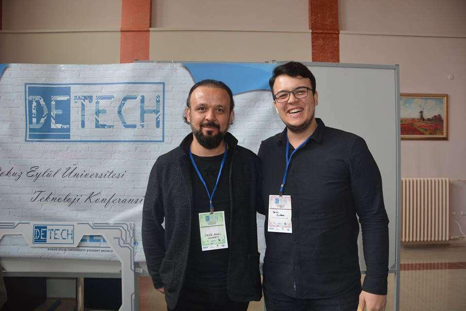 Dr Özgür AKIN İzmir Dokuz Eylül Üniversitesinde Dijital Dönüşüm ve Endüstri 40 konuları ile ilgili konferans verdi - 4