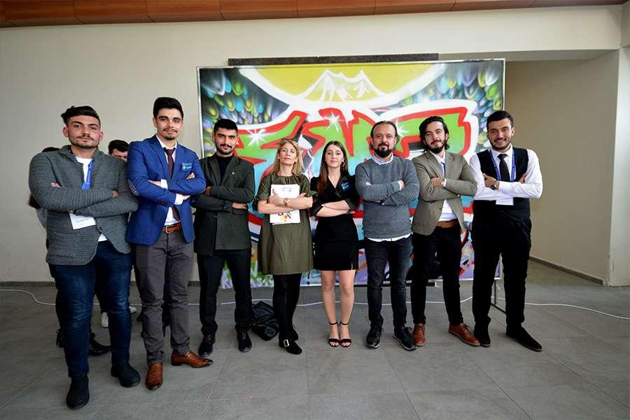 Dr Özgür AKIN Kayseri Erciyes Üniversitesi Öğrencileriyle Buluştu - 4