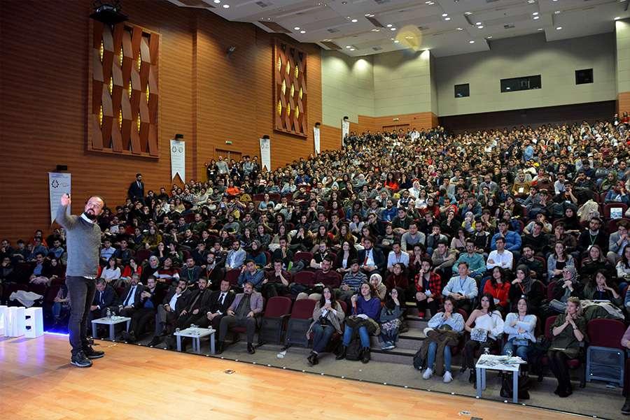 Dr Özgür AKIN Kayseri Erciyes Üniversitesi Öğrencileriyle Buluştu - 10