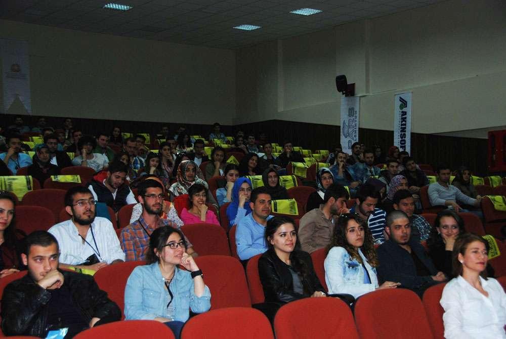 Konya Selçuk Üniversitesi nde AKINSOFT Yönetim Kurulu Başkanı Dr Özgür AKIN ile Söyleşi - 5