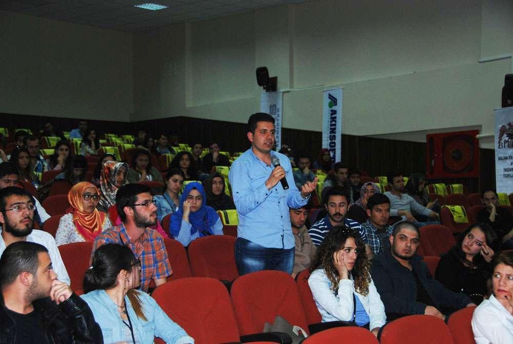 Konya Selçuk Üniversitesi nde AKINSOFT Yönetim Kurulu Başkanı Dr Özgür AKIN ile Söyleşi - 8