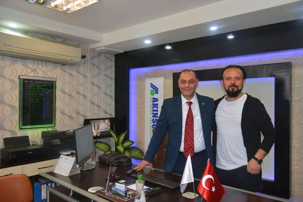 AKINSOFT Yönetim Kurulu Başkanı Dr Özgür AKIN Şanlıurfada Harran Üniversitesinde - 17