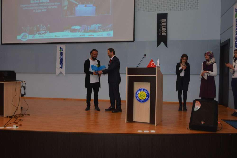 AKINSOFT Yönetim Kurulu Başkanı Dr Özgür AKIN Şanlıurfada Harran Üniversitesinde - 6