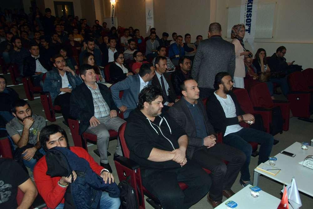 AKINSOFT Yönetim Kurulu Başkanı Dr Özgür AKIN Manisa Celal Bayar Üniversitesinde - 20