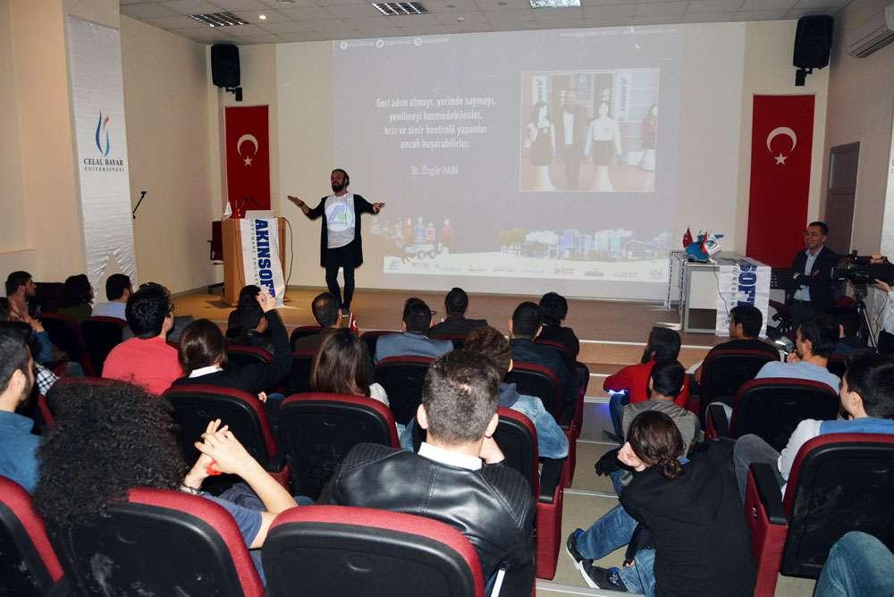 AKINSOFT Yönetim Kurulu Başkanı Dr Özgür AKIN Manisa Celal Bayar Üniversitesinde - 10
