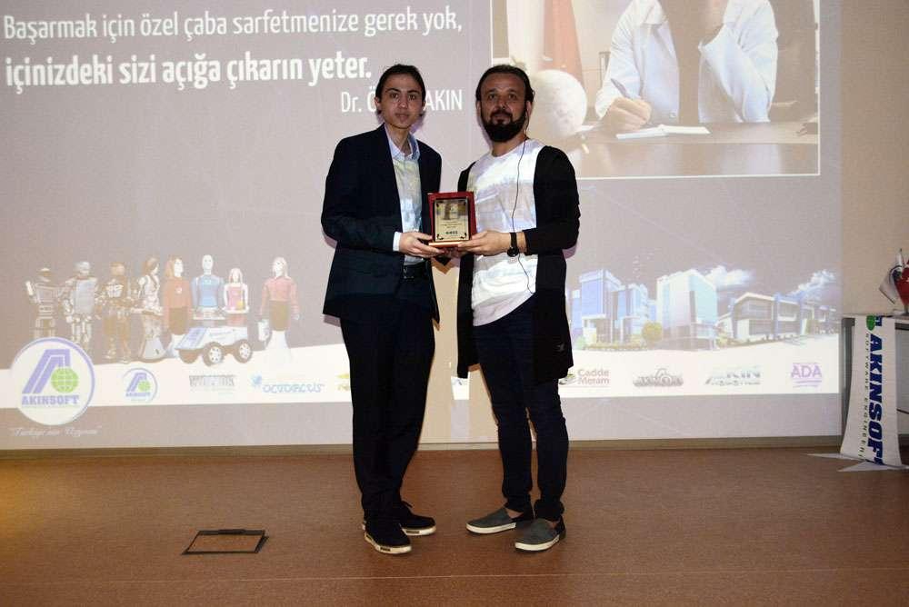 AKINSOFT Yönetim Kurulu Başkanı Dr Özgür AKIN Manisa Celal Bayar Üniversitesinde - 11