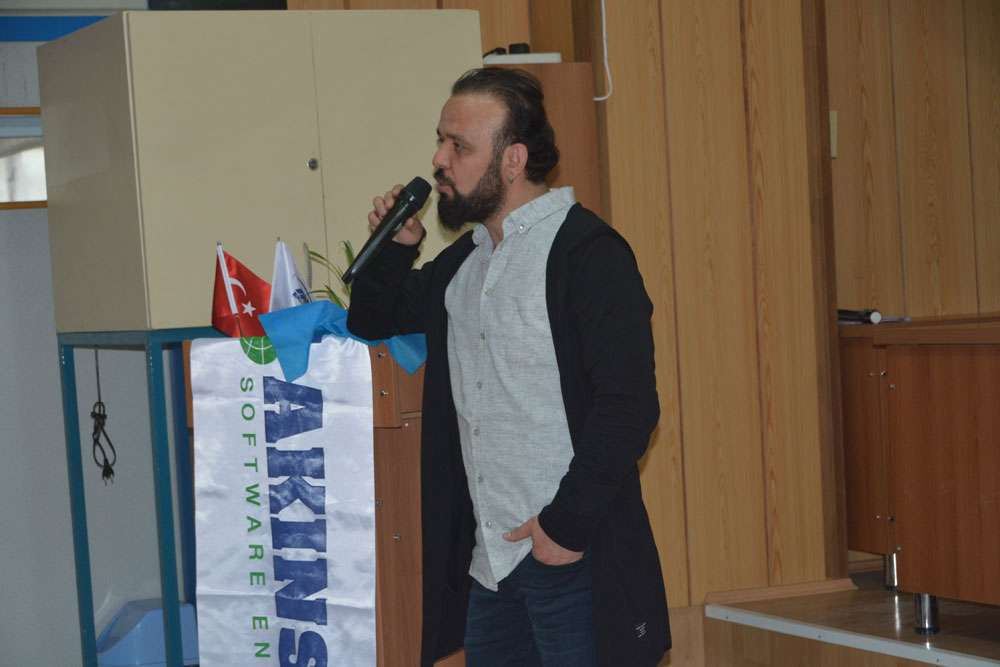 AKINSOFT Yönetim Kurulu Başkanı Dr Özgür AKIN Aydın Söke Endüstri Meslek Lisesinde - 6