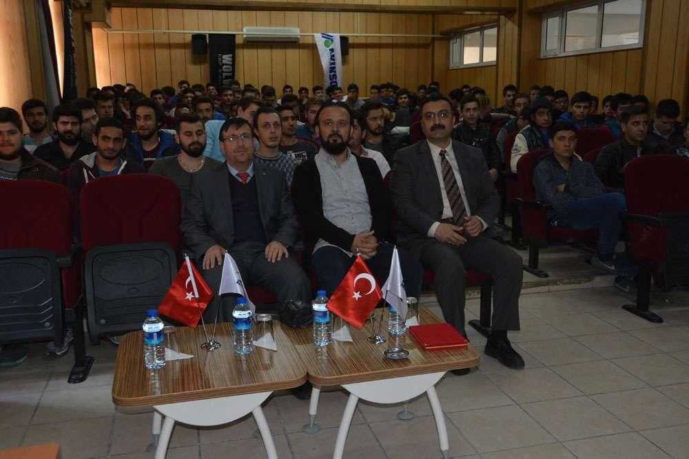 AKINSOFT Yönetim Kurulu Başkanı Dr Özgür AKIN Aydın Söke Endüstri Meslek Lisesinde - 17