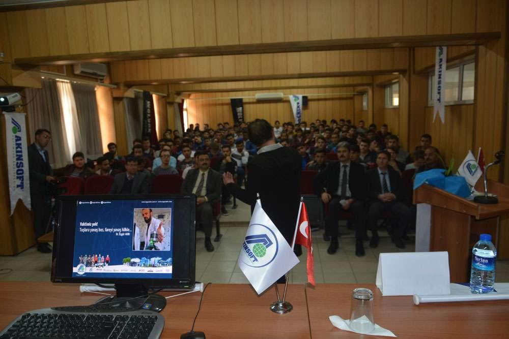 AKINSOFT Yönetim Kurulu Başkanı Dr Özgür AKIN Aydın Söke Endüstri Meslek Lisesinde - 15
