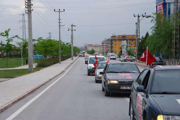 Konya da Coşkulu Konvoy - 211
