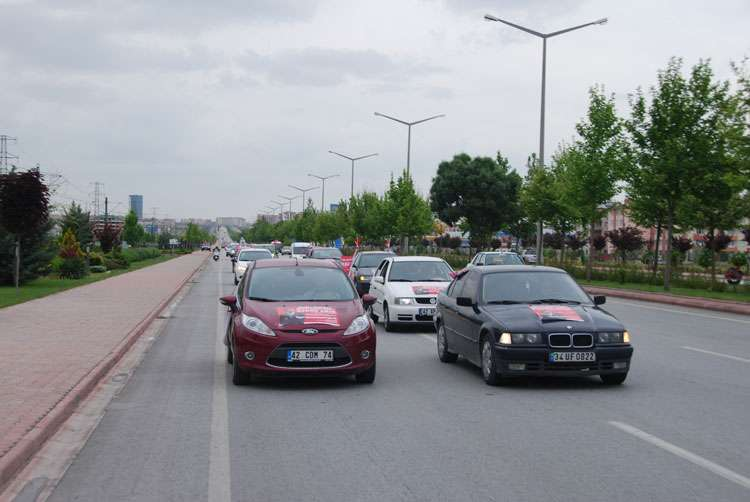 Konya da Coşkulu Konvoy - 144