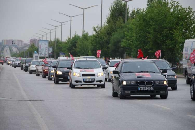 Konya da Coşkulu Konvoy - 96