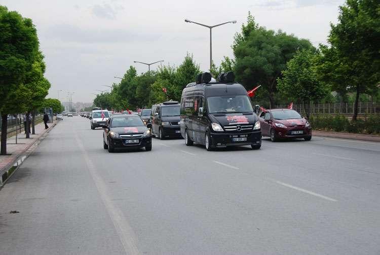 Konya da Coşkulu Konvoy - 130