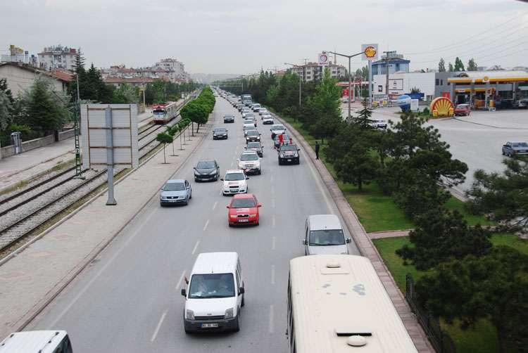 Konya da Coşkulu Konvoy - 155
