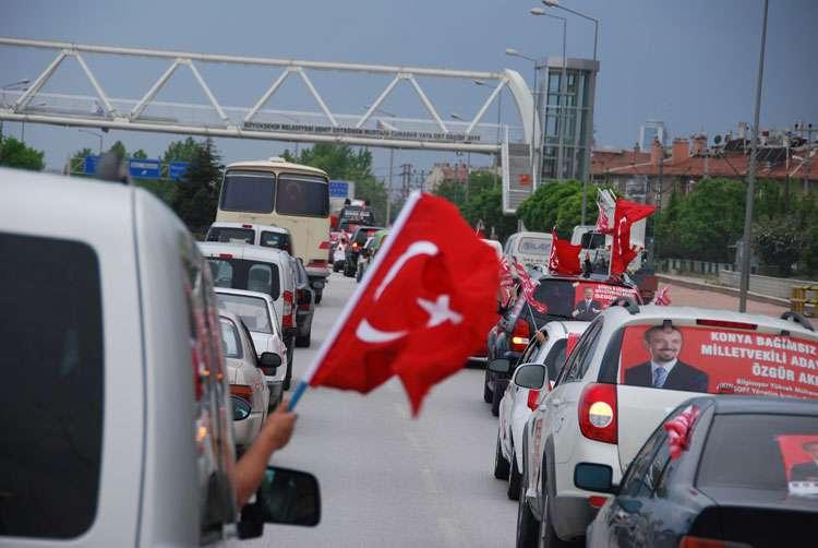 Konya da Coşkulu Konvoy - 213
