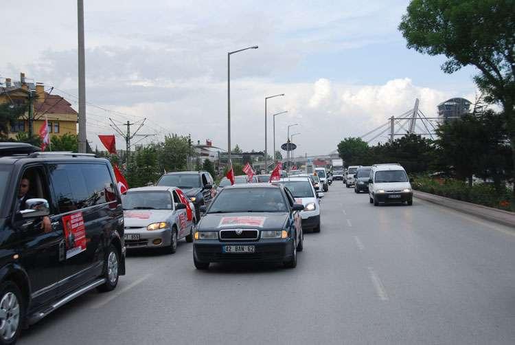 Konya da Coşkulu Konvoy - 61
