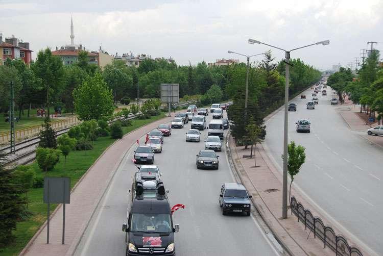 Konya da Coşkulu Konvoy - 63