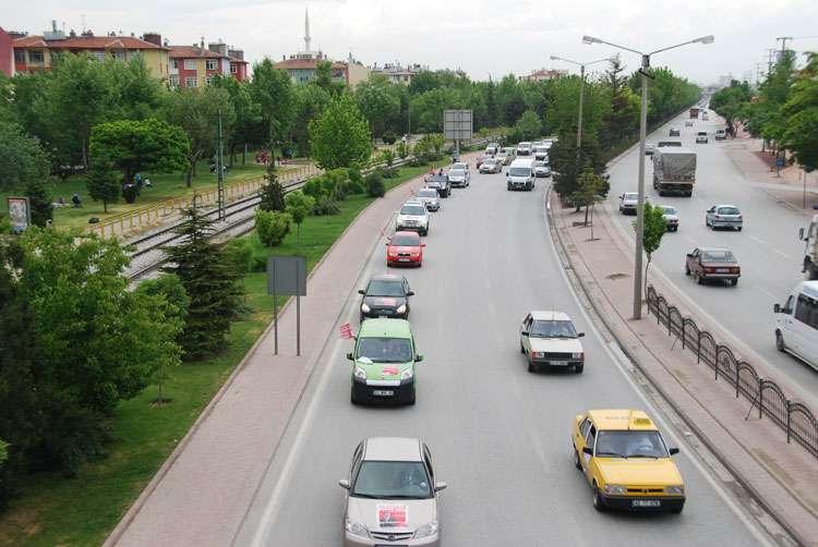 Konya da Coşkulu Konvoy - 33