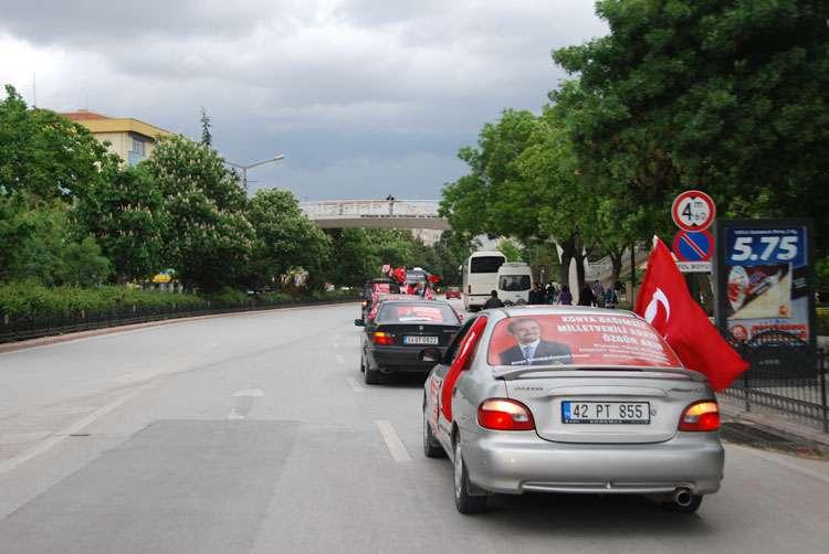 Konya da Coşkulu Konvoy - 190