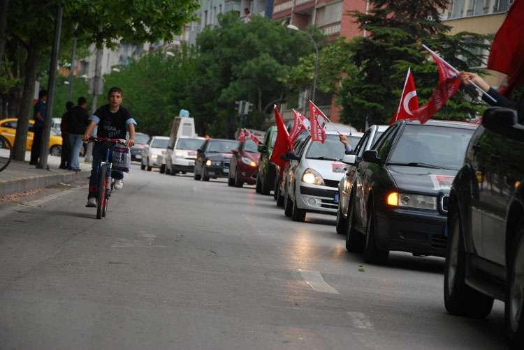 Konya da Coşkulu Konvoy - 77