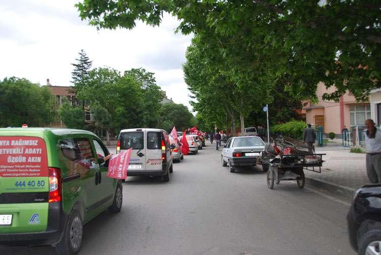 Konya da Coşkulu Konvoy - 121