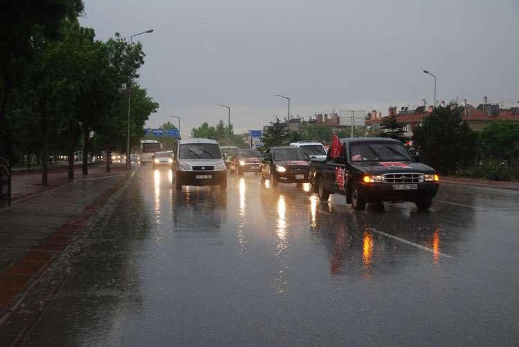 Konya da Coşkulu Konvoy - 244