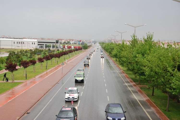 Konya da Coşkulu Konvoy - 198