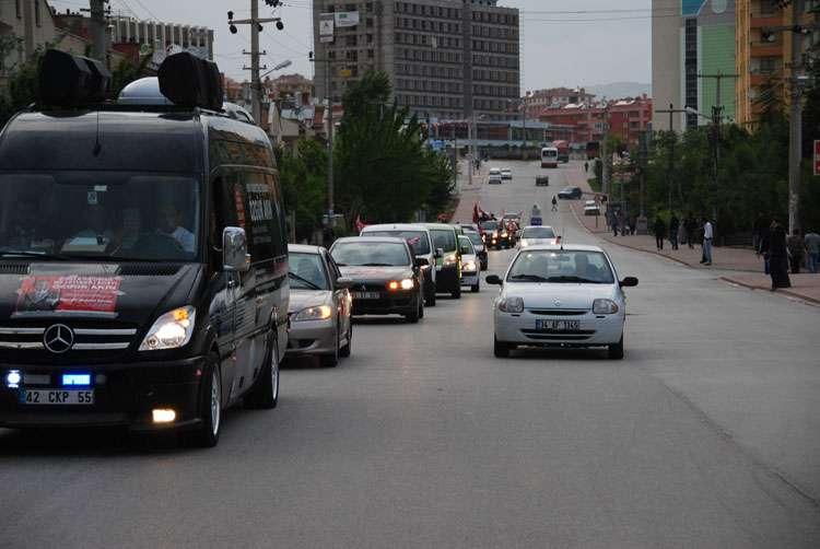 Konya da Coşkulu Konvoy - 156