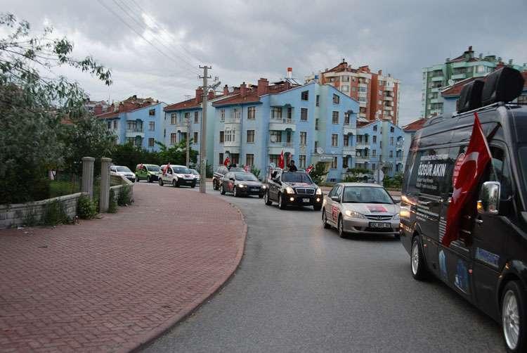 Konya da Coşkulu Konvoy - 172