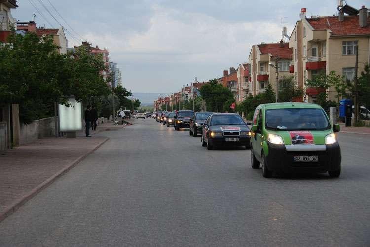 Konya da Coşkulu Konvoy - 221