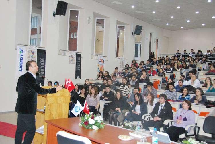 AKINSOFT Yönetim Kurulu Başkanı Özgür AKIN Balıkesir Üniversitesi nde - 5