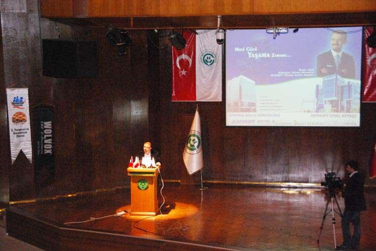 AKINSOFT Yönetim Kurulu Başkanı Özgür AKIN Adana Çukurova Üniversitesi nde - 12