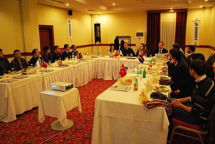 AKINSOFT Yönetim Kurulu Başkanı Özgür AKIN AKINSOFT Elazığ Çözüm Ortakları Toplantısı nda - 9