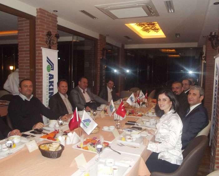 AKINSOFT Yönetim Kurulu Başkanı DrÖzgür AKIN AKINSOFT İstanbul Çözüm Ortakları Toplantısı nda - 5