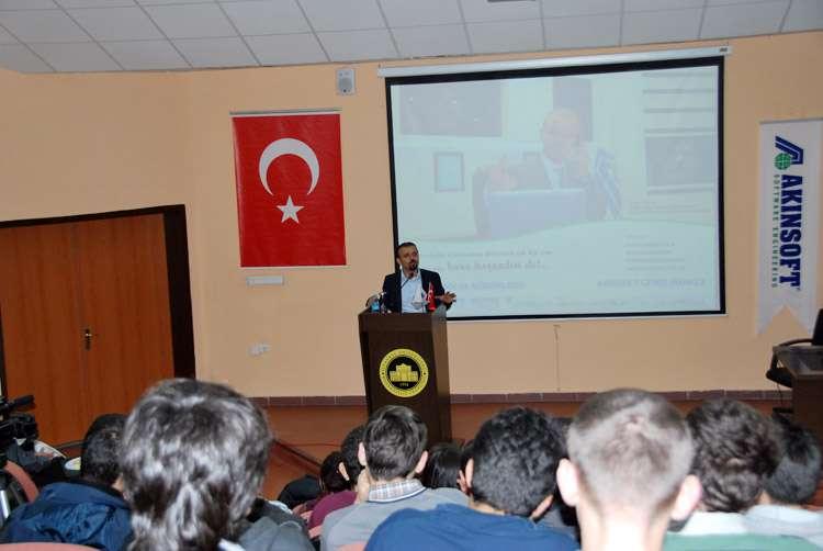 AKINSOFT Yönetim Kurulu Başkanı Özgür AKIN İstanbul Üniversitesi nde - 5