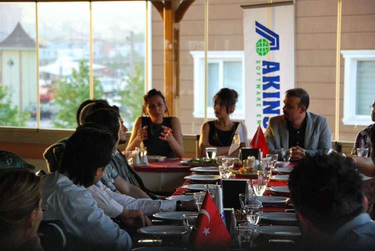 AKINSOFT Yönetim Kurulu Başkanı Özgür AKIN Kocaeli Çözüm Ortakları yla Buluştu - 7