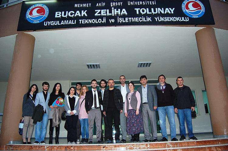 AKINSOFT Yönetim Kurulu Başkanı Özgür AKIN Burdur Mehmet Akif Ersoy Üniversitesi nde - 21