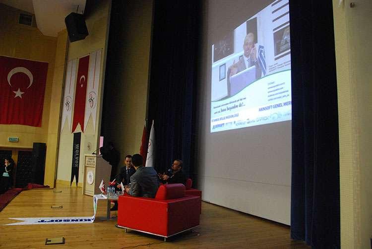 AKINSOFT Yönetim Kurulu Başkanı Özgür AKIN Osmaniye Korkut Ata Üniversitesi nde - 12