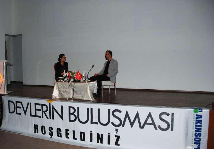 Dr Özgür AKIN Konya Selçuk Üniversitesi Öğrencileriyle Söyleşide Buluştu - 12