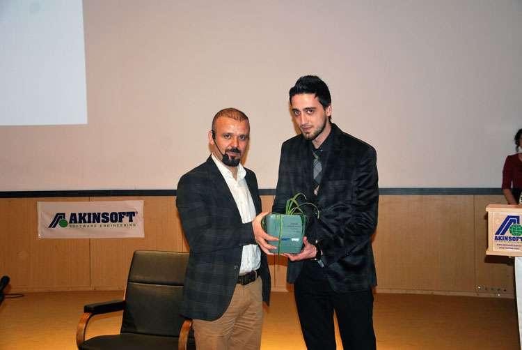 Sivas Cumhuriyet Üniversitesi nde AKINSOFT Yönetim Kurulu Başkanı Dr Özgür AKIN ile Söyleşi - 8