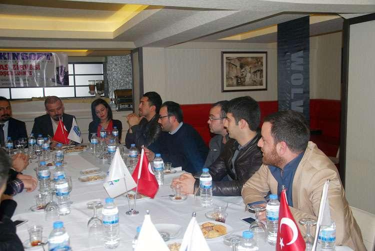 AKINSOFT Yönetim Kurulu Başkanı Dr Özgür AKIN AKINSOFT Sivas Çözüm Ortakları Toplantısı nda - 5
